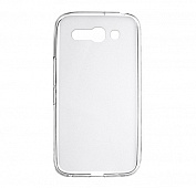 Чехол Drobak Elastic PU для Alcatel One Touch 7047D POP C9 (White Clear)