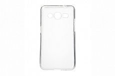 Чехол Drobak Elastic PU для Samsung Galaxy Core 2 G355 (White Clear)