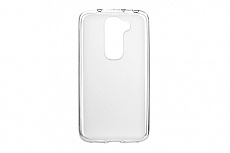 Чехол Drobak Elastic PU для LG G2 mini D618 (White Clear)