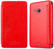 Чехол Vellini Book Style для Microsoft Lumia 535 (Nokia) DS (Red)