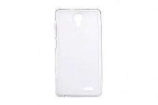 Чехол Drobak Elastic PU для Lenovo A536 (White Clear)