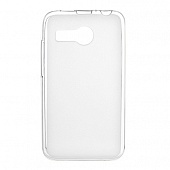 Чехол Drobak Elastic PU для Lenovo A316i (White Clear)