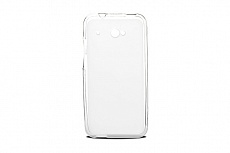 Чехол Drobak Elastic PU для HTC Desire 601 Dual SIM (White Clear)