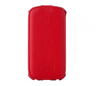 Чехол Vellini Lux-flip для Samsung Galaxy S3 Mini Neo i8200 (Red)