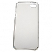 Чехол Drobak Elastic PU для Apple Iphone 5 (White)