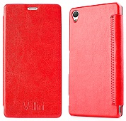 Чехол Vellini Book Style для Sony Xperia Z3 D6603 (Red)