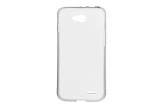 Чехол Drobak Elastic PU для LG Optimus L90 D405 (White Clear)