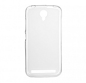Чехол Drobak Elastic PU для Fly IQ4410i (White Clear)
