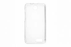 Чехол Drobak Elastic PU для Lenovo A526 (White Clear)