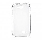 Чехол Drobak Elastic PU для Prestigio Multiphone 3400 (White Clear)