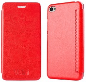 Чехол Vellini Book Style для Lenovo Sisley S90 (Red)