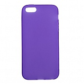 Чехол Drobak Elastic PU для Apple Iphone 5 (Purple)