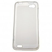 Чехол Drobak Elastic Rubber для HTC One V T320e (Clear)