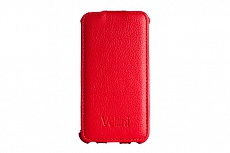 Чехол Vellini Lux-flip для Nokia Lumia 630 Quad Core Dual Sim (Red)
