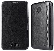 Чехол Vellini Book Style для Nokia Lumia 630 Quad Core Dual Sim (Black)