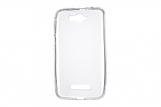 Чехол Drobak Elastic PU для Alcatel One Touch 7041D POP C7 Dual Sim (White Clear)
