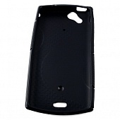 Чехол Drobak Elastic Rubber для Sony Xperia Arc LT18i (Black)
