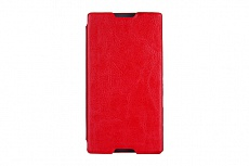 Чехол Drobak Book Style для Sony Xperia C C2305 (Red)