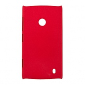Чехол Drobak Shaggy Hard для Nokia Lumia 520 (Red)