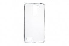 Чехол Drobak Elastic PU для LG L Bello Dual D335 (White Clear)