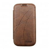 Чехол Drobak Oscar Style для Samsung Galaxy SIII/I9300 (Brown)