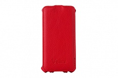 Чехол Vellini Lux-flip для Samsung Galaxy S5 Mini G800H (Red)