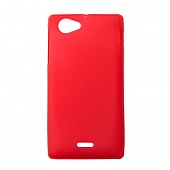 Чехол Drobak Elastic PU для Sony Xperia J (Red)