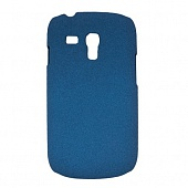 Чехол Drobak Shaggy Hard для Samsung Galaxy S III Mini NEO I8200 (Blue)