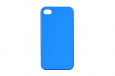 Чехол Drobak Elastic PU для Apple Iphone 4 (Blue)