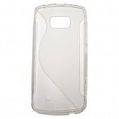 Чехол Drobak Elastic Rubber для Nokia 700 (Grey-clear)