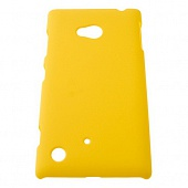 Чехол Drobak Shaggy Hard для Nokia Lumia 720 (Yellow)