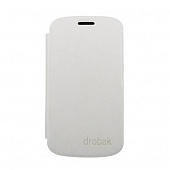 Чехол Drobak Book Style для Samsung Galaxy S III Mini NEO I8200 (White)