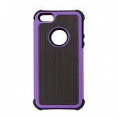 Чехол Drobak Anti-Shock для Apple Iphone 5 (Purple)